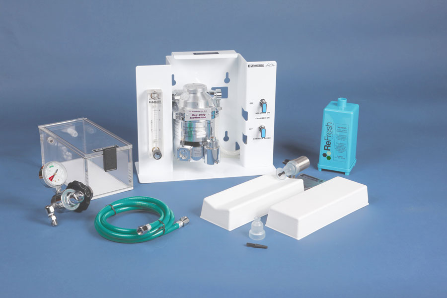 EZ-7000 Classic Small Animal Anesthesia System