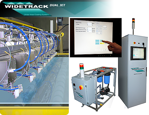 WideTrack Ultrasonic Coating System