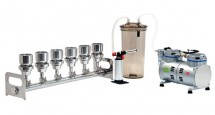 BioVac 630B 6-Branch Filtration System (Stainless Steel Manifold)