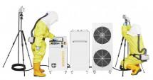 Double Jet Nozzle Dry Fog Hydrogen Peroxide (DDHP) Decontamination Service