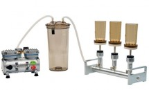 BioVac 321A 3-Branch Filtration System (Aluminum Manifold)