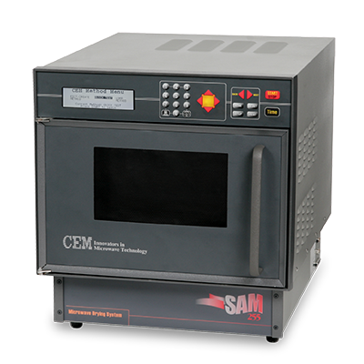 SAM 255 Microwave Drying Oven